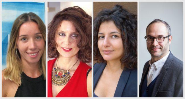 Sol Pochat, Alessia Zorloni, Fatos Üstek, Andrew Goldstein